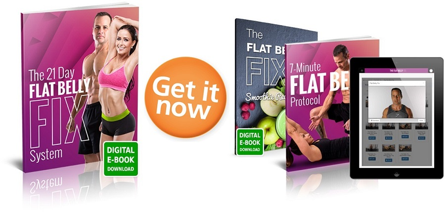 Burn Belly Fat - Flat Belly Fix